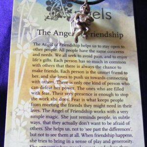 angel of friendship pendant
